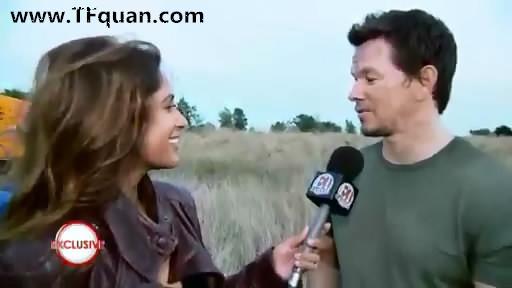 【新闻追踪】变4演员Mark Wahlberg和Nicola Peltz独家采访视频