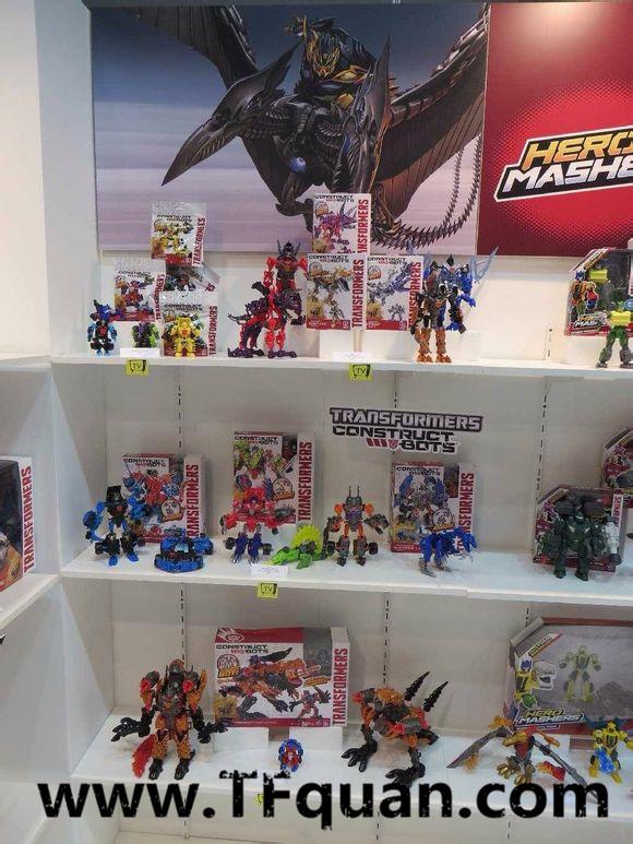 【新闻追踪】澳大利亚玩具展会变形金刚展区图片