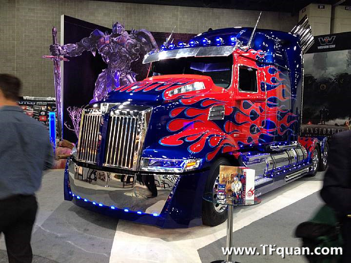 2014年 美国 中部卡车展 变四 擎天柱 车辆形态 精彩 图集
