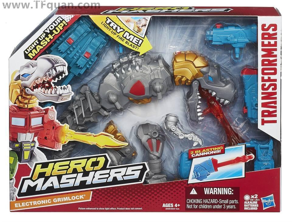 Hero Mashers 钢索 及 大黄蜂+钢鞭 官图